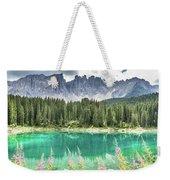 Lake Of Carezza - Italy Weekender Tote Bag