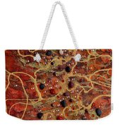 Lake Of Fire Weekender Tote Bag