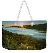 Lake Of The Clouds Sunrise Weekender Tote Bag