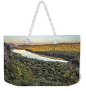 Lake Of The Clouds Sunset Weekender Tote Bag