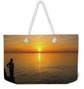 Lake Ontario Sunset Weekender Tote Bag