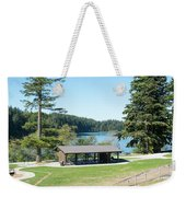 Lake Padden Picnic Shelter Weekender Tote Bag