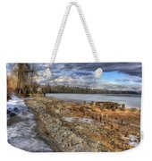 Lake Pend D'oreille At Humbird Ruins 2 Weekender Tote Bag