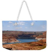 Lake Powell And Glen Canyon Dam Weekender Tote Bag