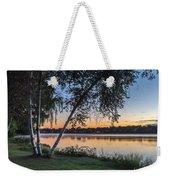Lake Quannapowitt At Sunset Weekender Tote Bag