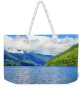 Lake Quinault Washington Weekender Tote Bag