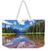 Lake Reflection Weekender Tote Bag