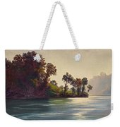 Lake Scene Weekender Tote Bag