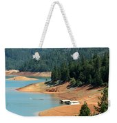 Lake Shasta Weekender Tote Bag