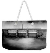 Lake Shelbyville Dam Weekender Tote Bag