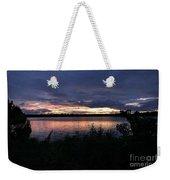 Lake Sky Weekender Tote Bag