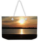 Lake Sunset-midrange Weekender Tote Bag
