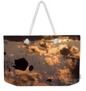Lake Sunset Reflections Weekender Tote Bag