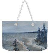 Lake Superior North Shore Waves  Weekender Tote Bag