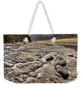 Lake Superior Northern Michigan  Weekender Tote Bag