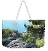 Lake Tahoe And Boulders Weekender Tote Bag
