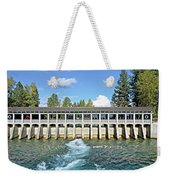 Lake Tahoe Dam Weekender Tote Bag