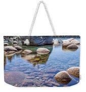 Lake Tahoe Rocks Weekender Tote Bag