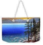 Lake Tahoe Sunrise Weekender Tote Bag
