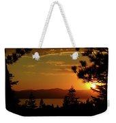 Lake Tahoe Sunset Weekender Tote Bag