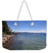 Lake Tahoe Waterscape Weekender Tote Bag
