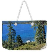 Lake Tahoe With Mountains Weekender Tote Bag