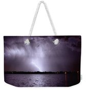 Lake Thunderstorm Weekender Tote Bag