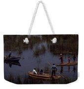 Lake Titicaca Reed Boats Weekender Tote Bag