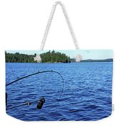Lake Trout Fishing Weekender Tote Bag