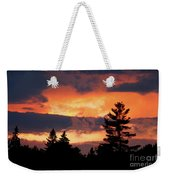 Lake Umbagog National Wildlife Refuge Sunset  Weekender Tote Bag