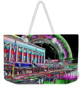 Lake Union Rainbow Weekender Tote Bag
