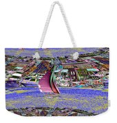 Lake Union Sail Weekender Tote Bag