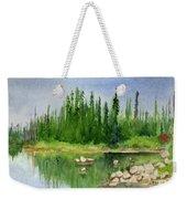 Lake View 1-2 Weekender Tote Bag