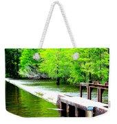 Lake Waccamaw Dam Weekender Tote Bag