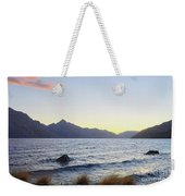 Lake Wakatipu At Sunset Weekender Tote Bag