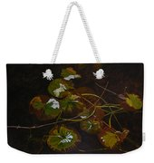 Lake Washington Lily Pad 16 Weekender Tote Bag