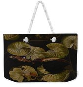 Lake Washington Lily Pad 9 Weekender Tote Bag