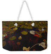 Lake Washington Lilypad 7 Weekender Tote Bag