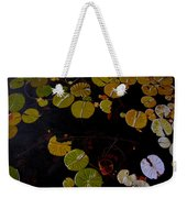 Lake Washington Lilypad 8 Weekender Tote Bag