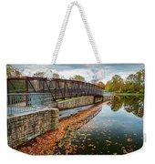 Lake Waterford Fall Waterscape Weekender Tote Bag
