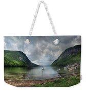 Lake Willoughby  Panorama One Weekender Tote Bag