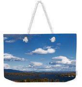 Lake Winnipesaukee New Hampshire In Autumn Weekender Tote Bag