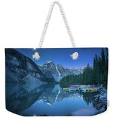 Lake With Moon At Four Am Weekender Tote Bag
