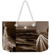 Lakeshore Chicago Weekender Tote Bag