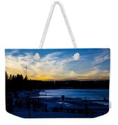Lakeshore Nights Weekender Tote Bag