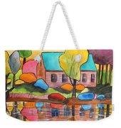 Lakeside Dream House Weekender Tote Bag