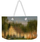 Lakeside Living On Wiggins Lake - Abstract Weekender Tote Bag