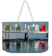 Lakeside Living Weekender Tote Bag