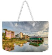 Lakeside Reflections Weekender Tote Bag