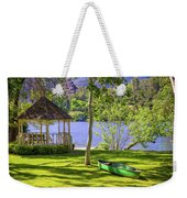 Lakeside Relaxation Weekender Tote Bag